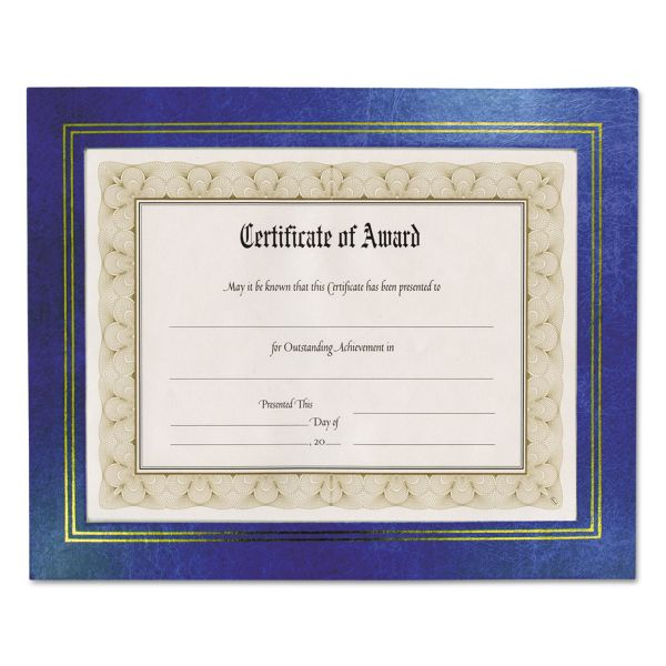 Nu-Dell Flat Leatherette Picture/Certificate Frame