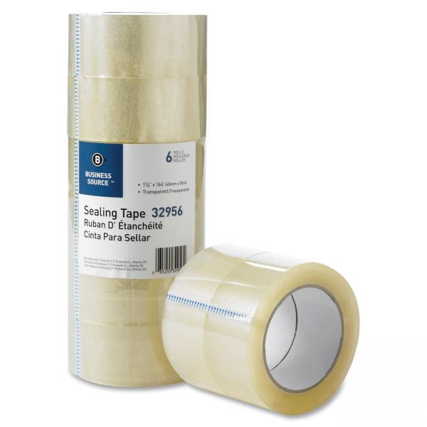"""Business Source Heavy Duty 2"""" Packing Tape"""