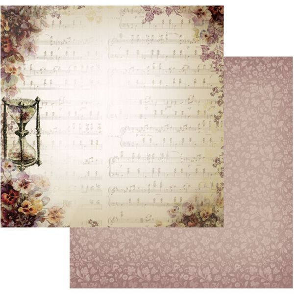 """Hearts Ease Double-Sided Paper 12""""X12"""""""