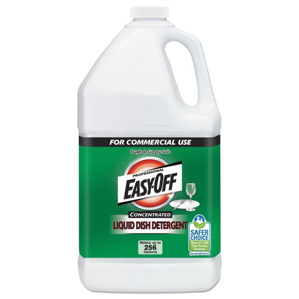 Professional EASY-OFF Liquid Dish Detergent Concentrate, 1 gal Bottle