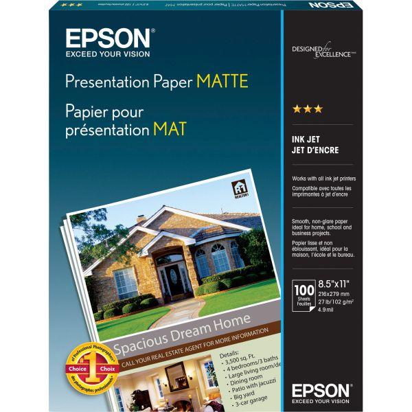 Epson Presentation Matte Photo Paper