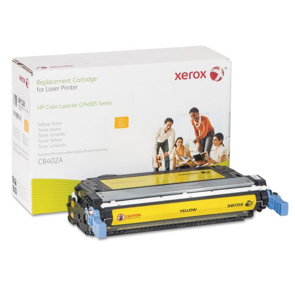 Xerox Remanufactured HP CB402A Yellow Toner Cartridge