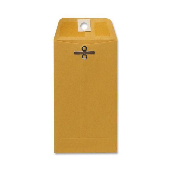 Sparco Gummed Clasp Envelopes