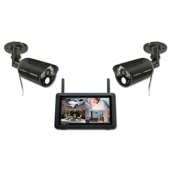 Uniden UDR777HD 1080p Home Security and Video Monitoring System with Two Cameras