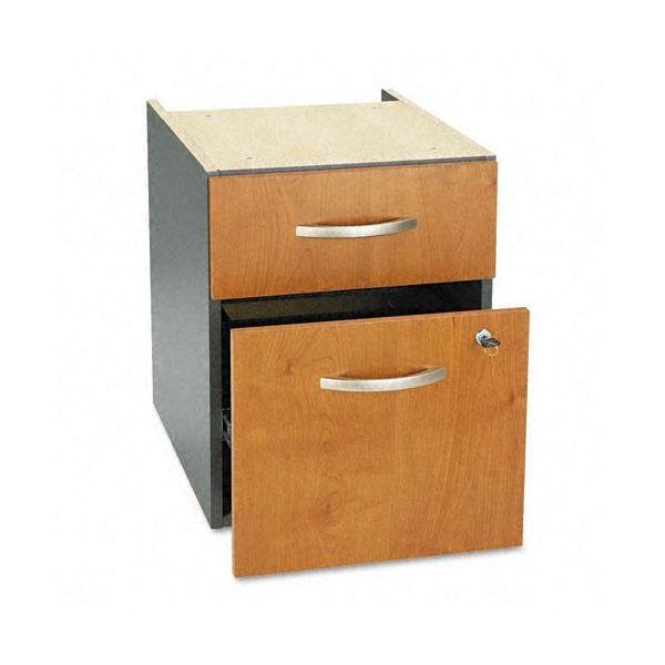 Bush Furniture 3/4 Pedestal (B/F) (Assembled) Series C Natural Cherry