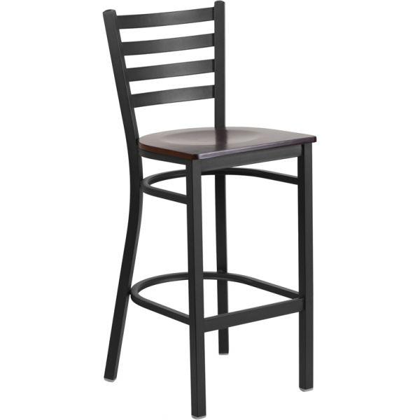 Flash Furniture HERCULES Series Ladder Back Barstool