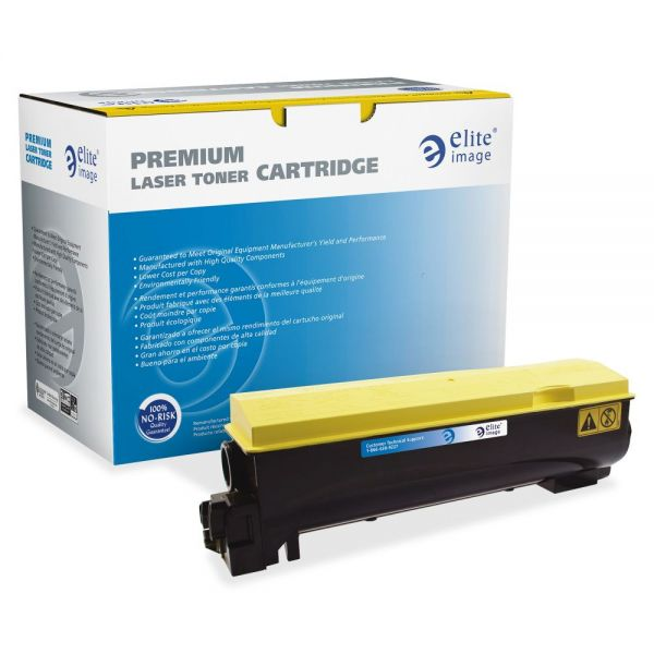 Elite Image Remanufactured Kyocera TK562Y Toner Cartridge