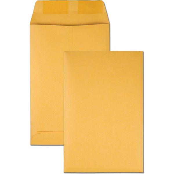 Quality Park Catalog Envelope, 6 x 9, Brown Kraft, 100/Box
