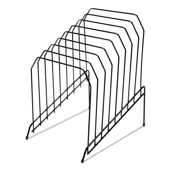 Universal Wire Tiered File Sorter, 8 x 10 1/2 x 12 1/2, Black ...
