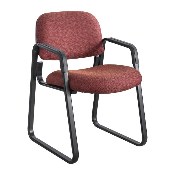 Safco Cava Urth Collection Sled Base Guest Chair