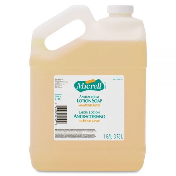 Micrell Antimicrobial Lotion Hand Soap
