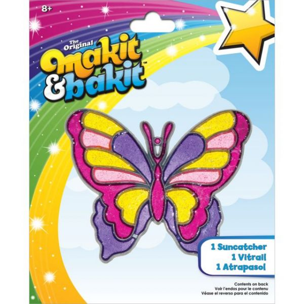 Makit & Bakit Large Butterfly Suncatcher Kit
