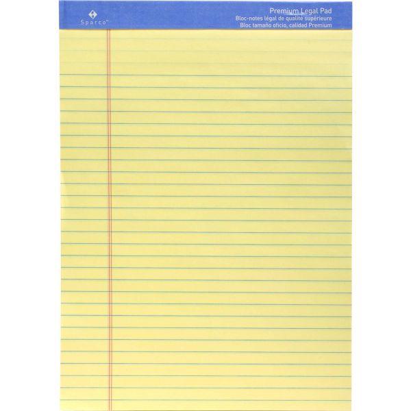 Sparco Premium Grade Letter-Size Legal Pad
