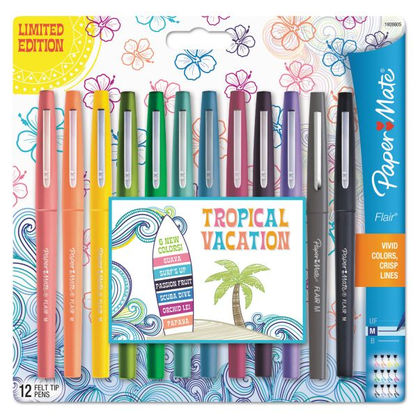 PaperMate Flair Medium Point Porous Markers