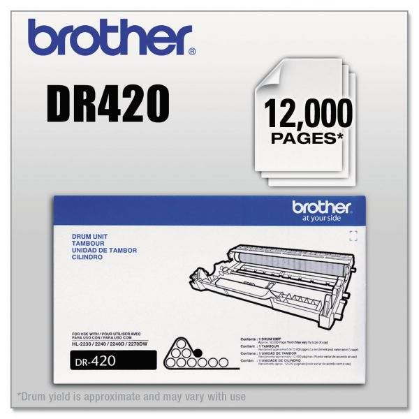 Brother DR420 Replacement Drum
