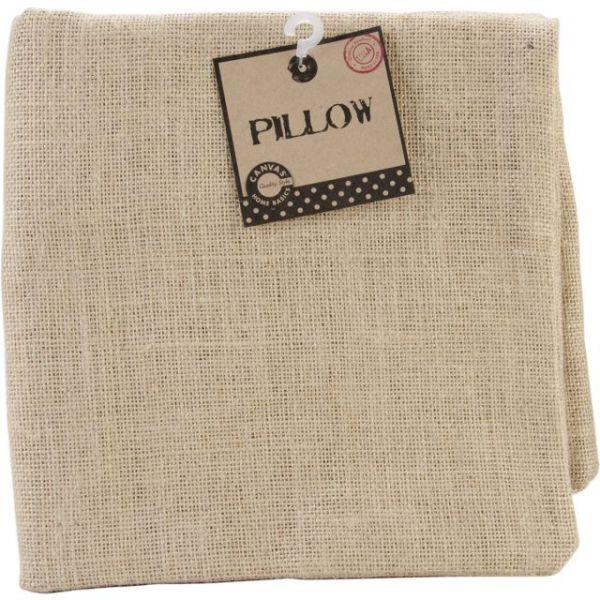 "Burlap Pillow Square 20""X20"""