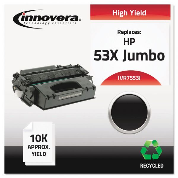 Innovera Remanufactured HP 53X (Q7553X(J) Toner Cartridge