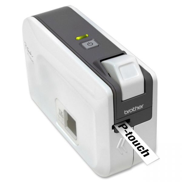 Brother P-touch PT-1230PC Thermal Transfer Printer - Monochrome - Desktop