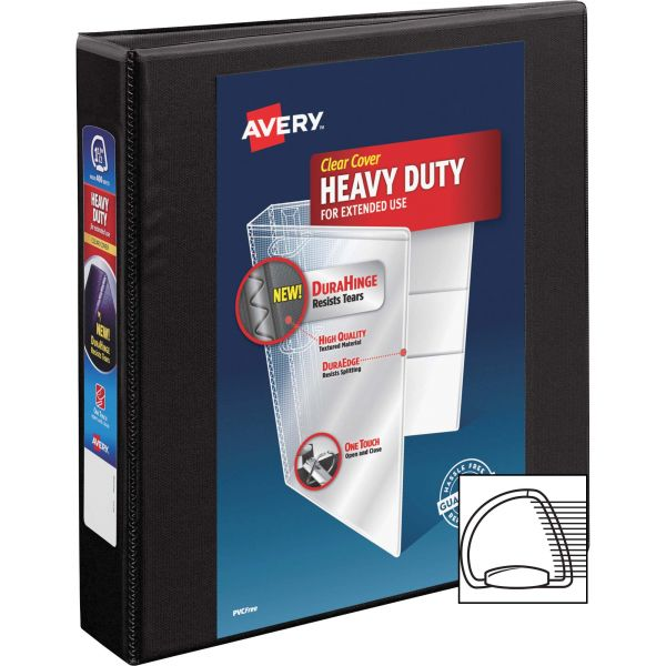 "Avery Heavy-Duty Reference 1 1/2"" 3-Ring View Binder"