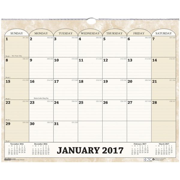 House of Doolittle Monthly Wall Calendar