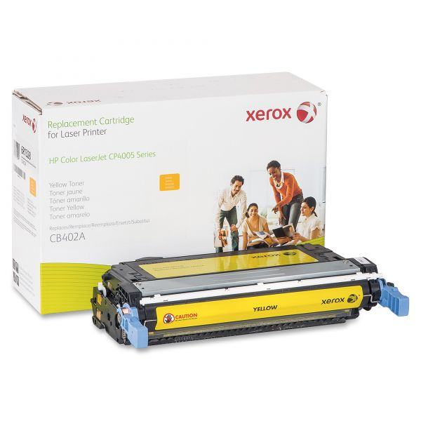 Xerox 006R01328 Replacement Toner for CB402A (642A), Yellow