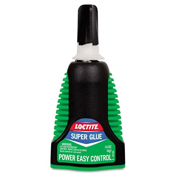 Loctite Super Power Easy Gel Control, 0.14 oz, Clear
