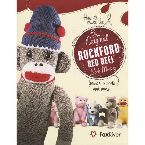 Red Heel Sock Monkey Pattern Book
