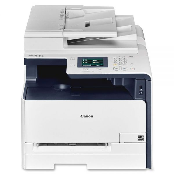 Canon i-SENSYS MF628CW Laser Multifunction Printer - Color - Plain Paper Print - Desktop