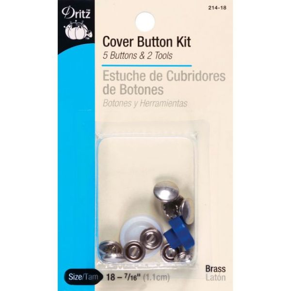 Cover Button Kits
