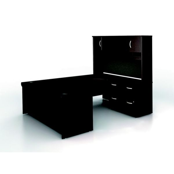 bbf Series C Executive Configuration - Mocha Cherry finish by Bush Furniture