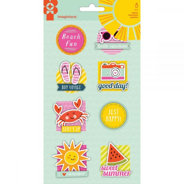 Sunny Sticker Stackers 3D Stickers