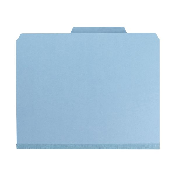 Smead SafeSHIELD Pressboard Classification Folders with Pocket Dividers