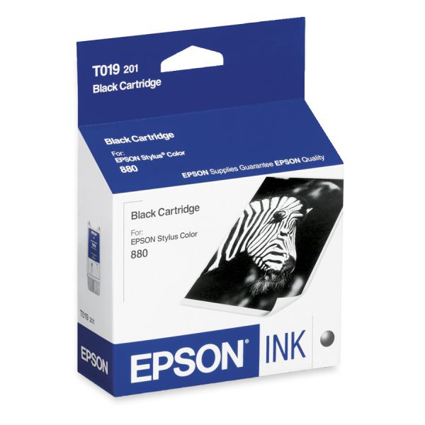 Epson T019 Black Ink Cartridge