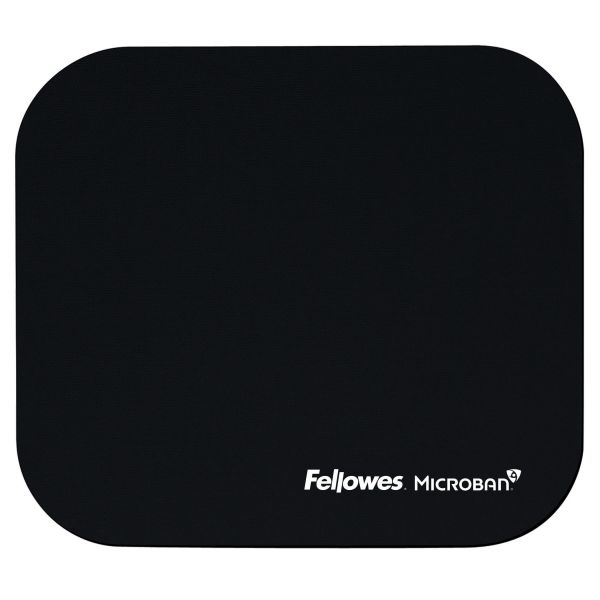 Fellowes Microban® Mouse Pad - Black