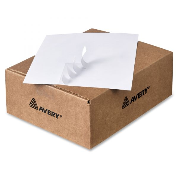 Avery Copier Address Labels, 1 x 2 13/16, White, 16500/Box