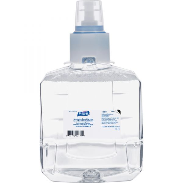 Purell Advanced Green Certified Instant Foam Hand Sanitizer Refills