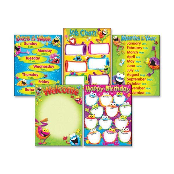 Classroom Basics (Frog-tastic!®) Learning Charts Combo Pack