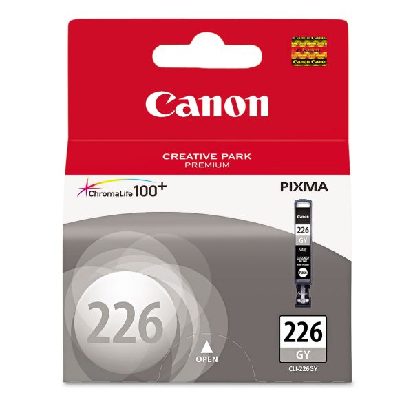 Canon CLI-226GY Gray Ink Cartridge (4550B001)