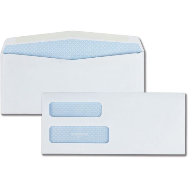 Quality Park Double Window Security Envelopes