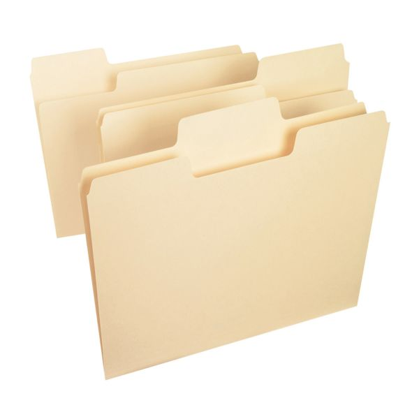 Smead SuperTab Manila File Folders