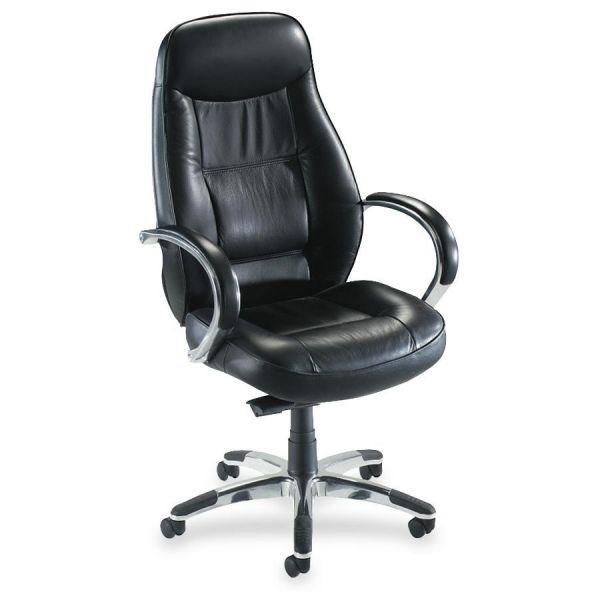 Lorell Ridgemoor Executive High-Back Swivel Chair