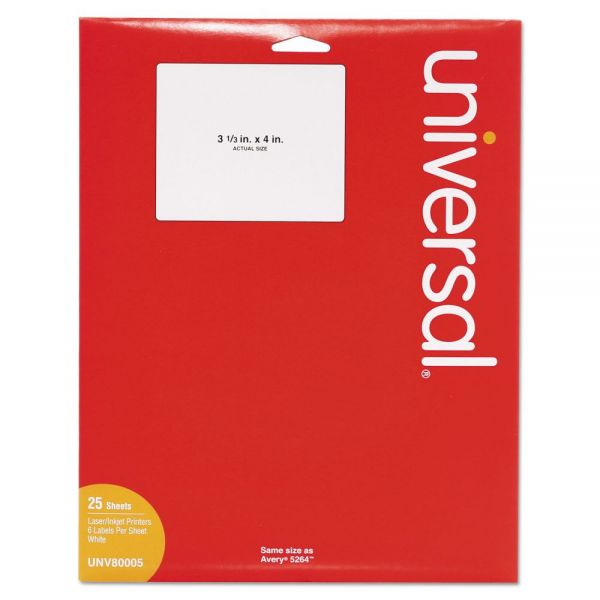 Universal Shipping Labels