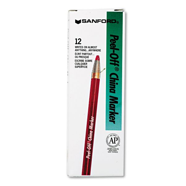 Sharpie Peel-Off Paper China Markers