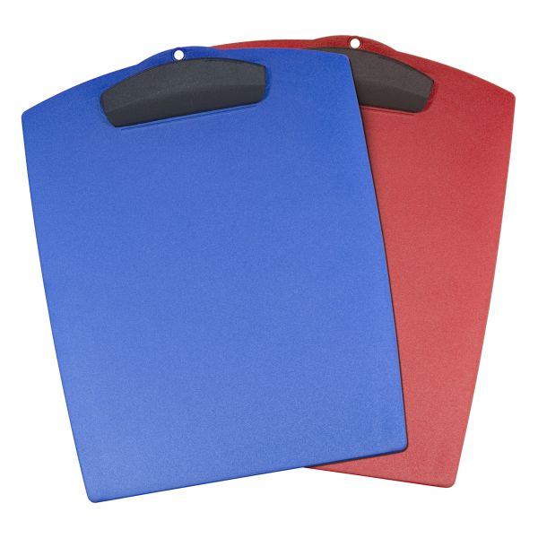 Storex Hard Poly Clipboards