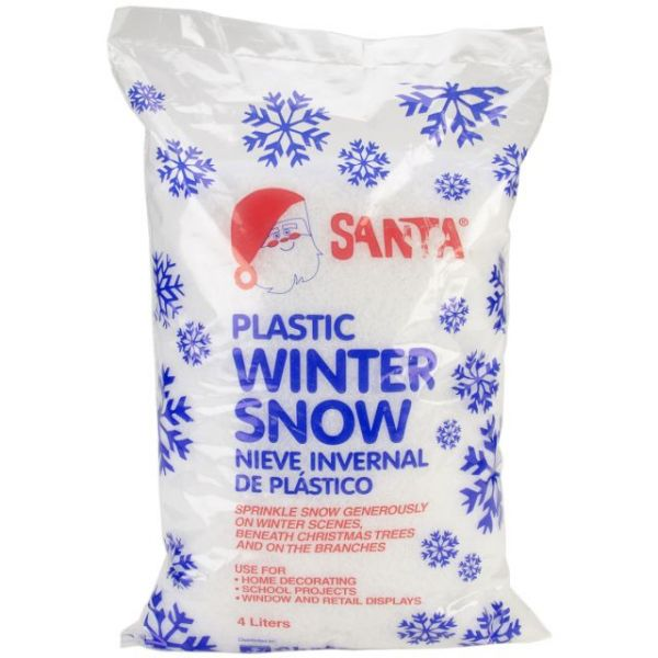 Plastic Winter Snow