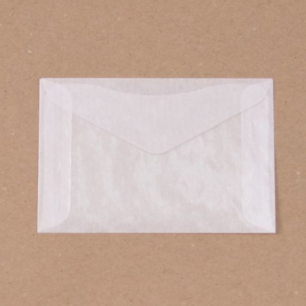 "Glassine Envelopes 3.25""X4.875"" 8/Pkg"