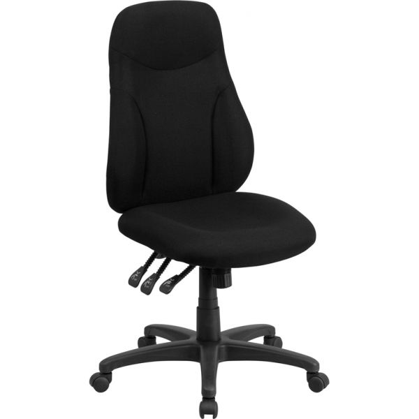 Flash Furniture High Back Multi-Functional Ergonomic Swivel Task Chair
