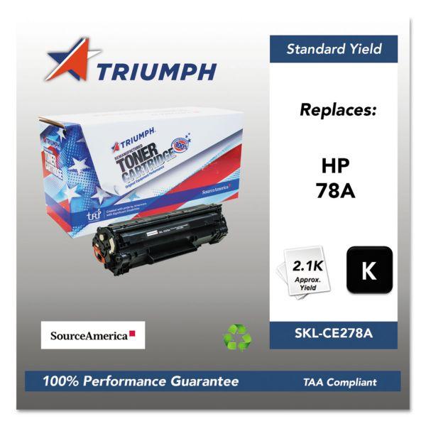 Triumph 751000NSH1099 Remanufactured CE278A (78A) Toner, Black