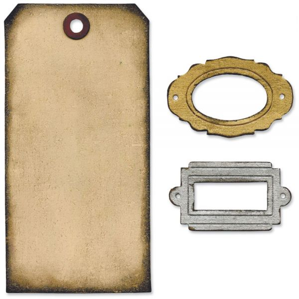 """Sizzix Movers & Shapers Base Die By Tim Holtz 5.5""""X6"""""""