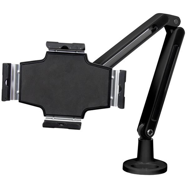 StarTech.com Desk Mountable Tablet Stand with Articulating Arm for iPad or Android Tablets